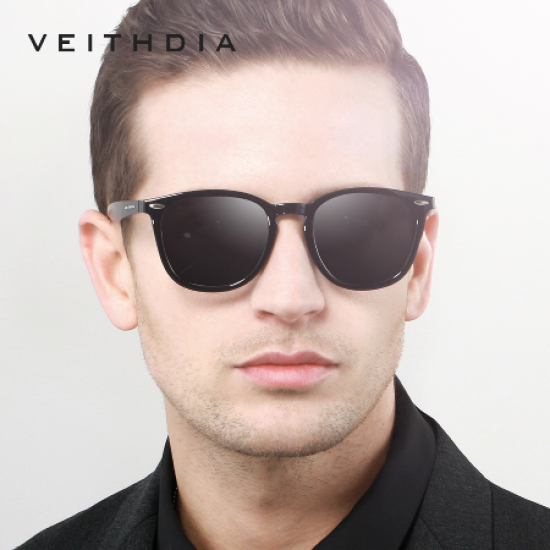 VEITHDIA #6116 Unisex Photochromic Mirror Sun Glasses Eyewear Accessories Sunglasses For Men Women