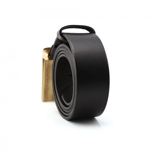 Cow Leather official/casual Belt Men With Anti-Scratch Buckle