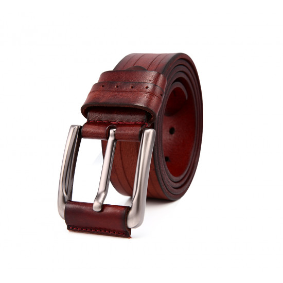 Premium Quality Cow Leather official and casual Leather Belt Men