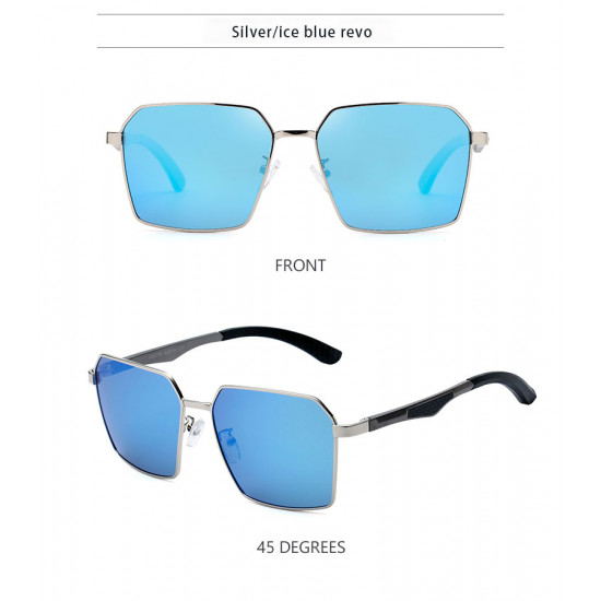 Classic hexagon Design polarized Linhai sunglasses| Blok Shop