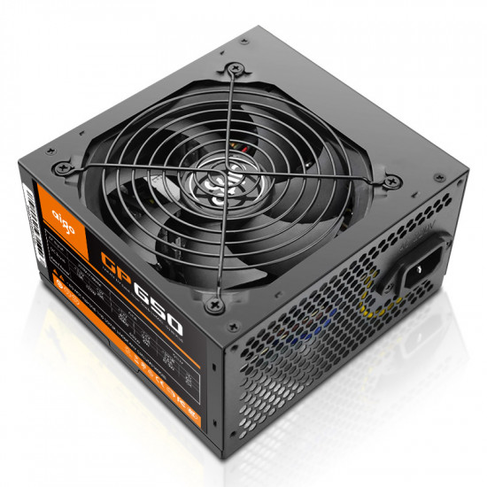 GP 650 Intel ATX 12V Switch Computer Power  Supply for Gamers