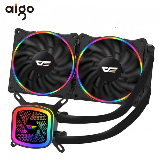 AIGO DARKFLASH TRACER DT240 CPU WATER COOLING HEATSINK