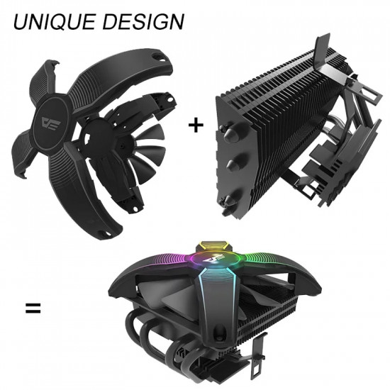 AIGO TALON COOLER NO FRAME X SHAPE RGB CPU COOLER