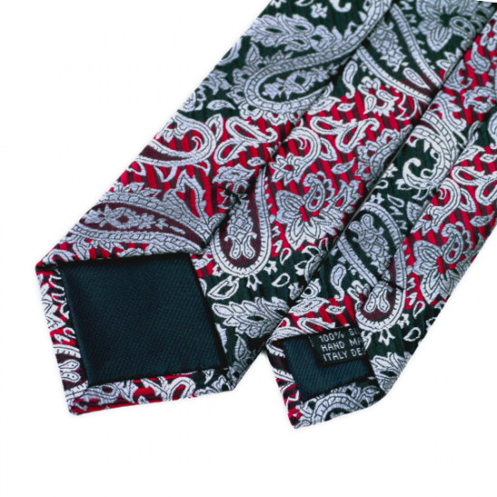 Floral Print silk Slim Neckties for men