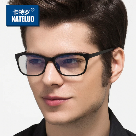 KATELUO TUNGSTEN 13031 Computer Anti Laser Fatigue Radiation-resistant Glasses Eyeglasses Frame