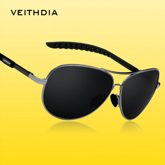 Veithdia brand aviator design Men Polarized sunglasses|Blok Shop