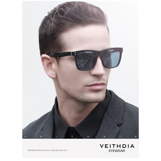 VEITHDIA 7018  Unisex  Photochromic Polarized Sunglasses