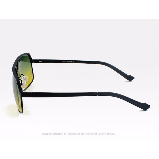 Day and night Dual purpose Vision Polarized Gradient Lens Eyewear